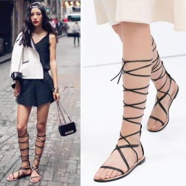 2015-New-Deluxe-Brand-Fashion-Women-Flat-Knee-font-b-High-b-font-font-b-Gladiator