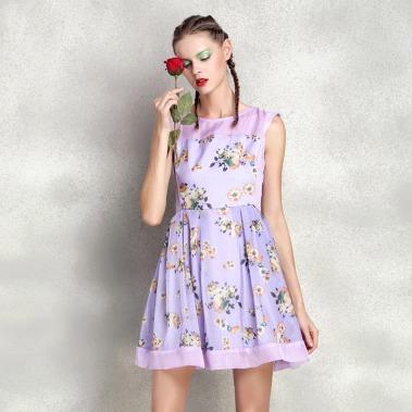 2015-summer-new-casual-fashion-runway-floral-font-b-dresses-b-font-high-end-women-s
