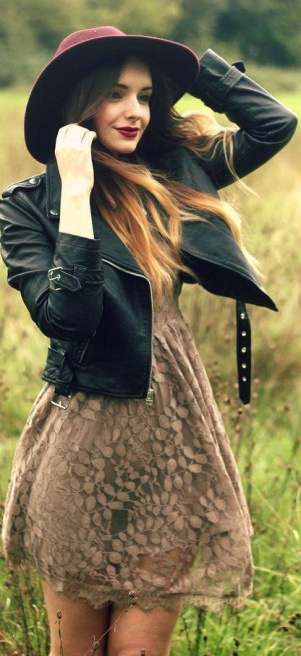 How-To-Combine-Lace-Leather-Inspiration-Looks-New-Ideas-1