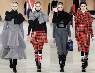 MARC-by-MArc-jacobs-runway-fall-2014-scarf-bow-cape-2
