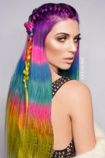 color-block-hair