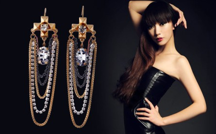0005154_trendy-cross-rhinestone-tassel-dangle-earrings