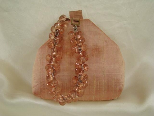 152_Peach_raw_silk_purse