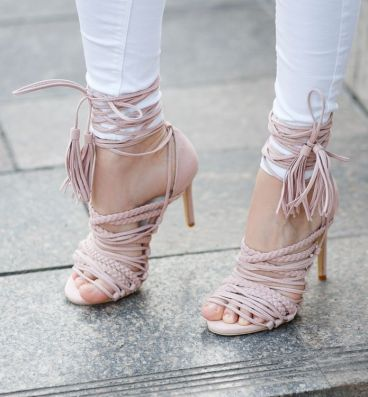 2015-Eelegant-girl-s-pink-suede-high-heeled-sandals-fashionable-narrow-band-weave-font-b-braid