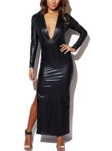 long-sleeve-faux-leather-dress-04