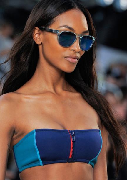5vkw09-l-610x610-swimwear-beach-summer-bikini-bikini-blue-blueswimwear-zipper-runway-tone-sexy-sunglasses
