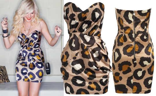 lipsy-pixie-lott-strapless-oversized-animal-print-dress
