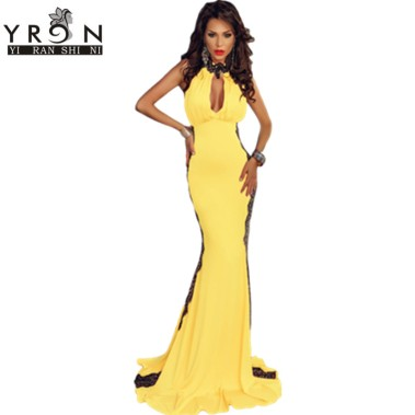 summer-long-dresses-2016-font-b-clothes-b-font-women-font-b-yellow-b-font-peekaboo