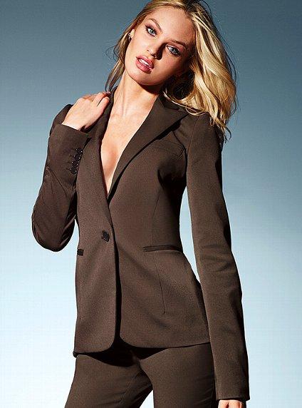 Wonderful Beige Blazer Black With White Stripe T And Black Pants Good Work