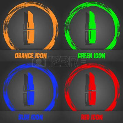 57407229-lipstick-icon-fashionable-modern-style-in-the-orange-green-blue-red-design-vector-illustration