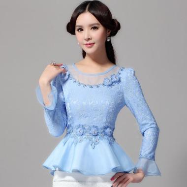 new-2015-autumn-women-lace-tops-fashion-long-sleeved-women-blouses-shirt-flounced-chiffon-lace-shirt