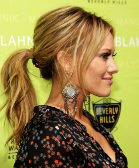celebrities-ponytails