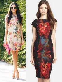 floral-sheath-dress-with-floral-print-is-gorgeous-short-dress