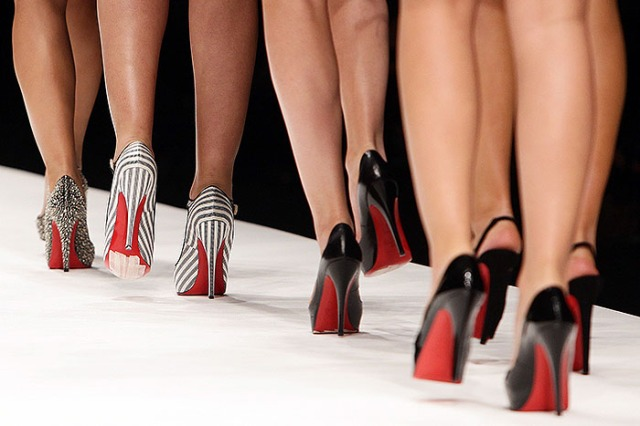 Christian Louboutin Heels on the Catwalk