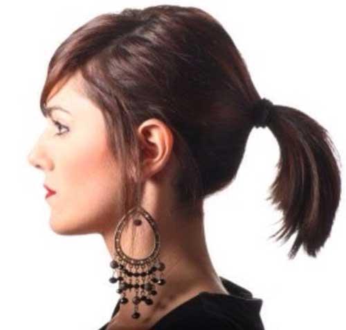 straight-ponytail-for-dark-short-hair