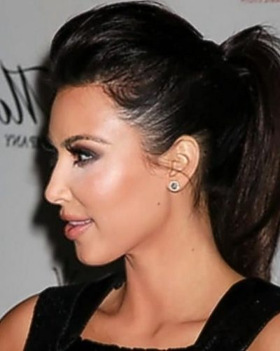 This Style Is The Bumped Ponytail. You Take A Comb And Tease The  regarding Bumped Ponytail