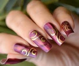 Glitzy glamorous nail art do it yourself manicures are a great best nail art designs for eid 0013 solutioingenieria Images