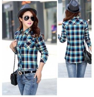 blue-sky-navy-velvet-shirt-woman-plaid-clothing-ranch-2-2