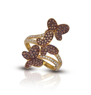 chocolate-diamond-butterfly-ring