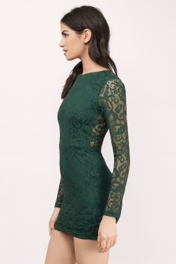 green-my-lace-or-yours-bodycon-dress