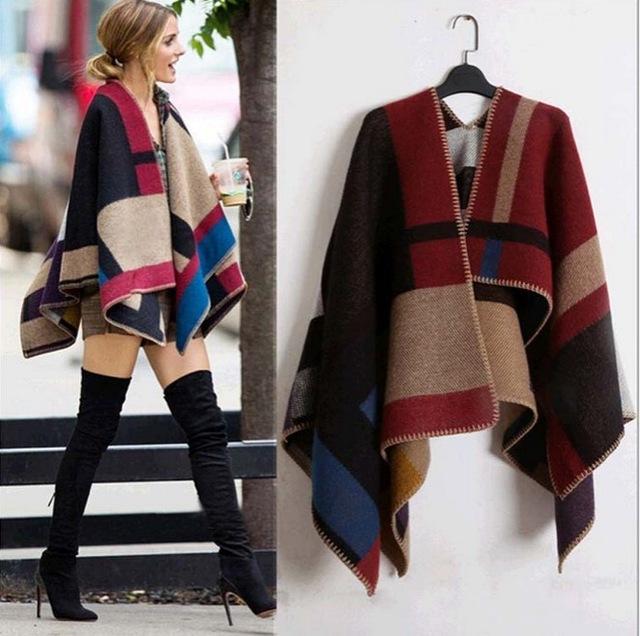oversized-sweater-cardigan-2015-olivia-palermo-runway-catwalk-street-snap-knitted-cardigan-plaid-cape-poncho-shawl-jpg_640x640