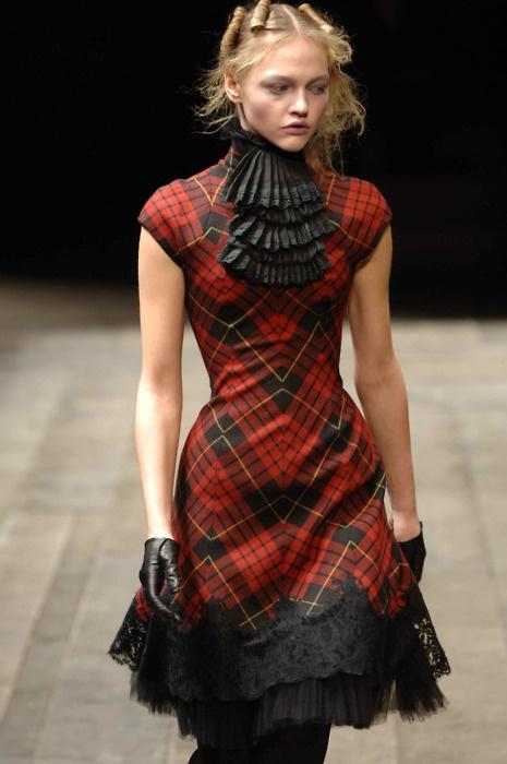 plaid-dress