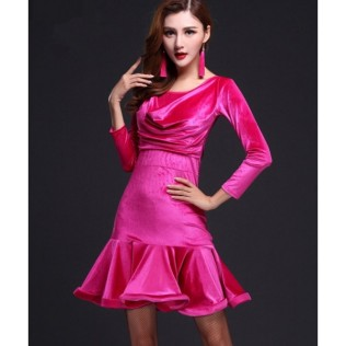 women-s-girls-black-royal-blue-fuchsia-velvet-round-neck-long-sleeves-latin-dance-dresses-samba-rumba-chacha-dreses-2345-600x600