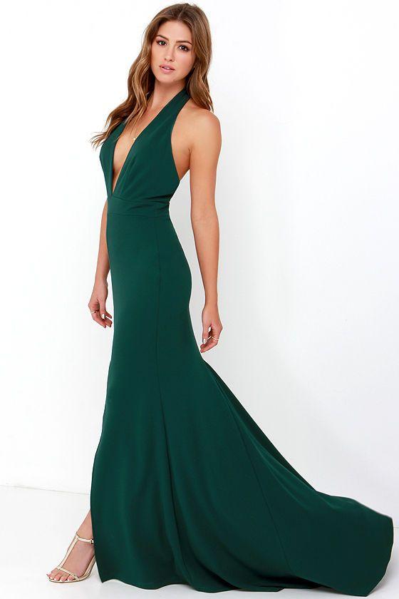 Dark Green Prom Dress Lulus – Dresses for Woman