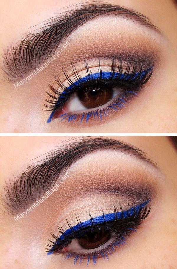 Colorful-Eyeliner-And-Mascara