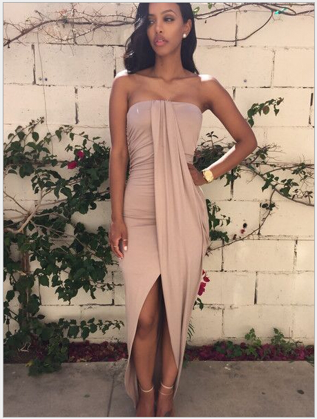 Hotsale-Summer-Dress-Sexy-Backless-Tube-Dress-Long-Dress-KF8106-Summer-Style-Nude-Color-S-M