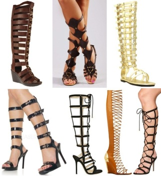 Latest-slippers-Gladiator-Style-for-ladies1