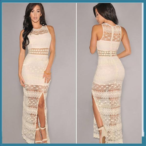 nude-color-round-neck-women-bodycon-dress