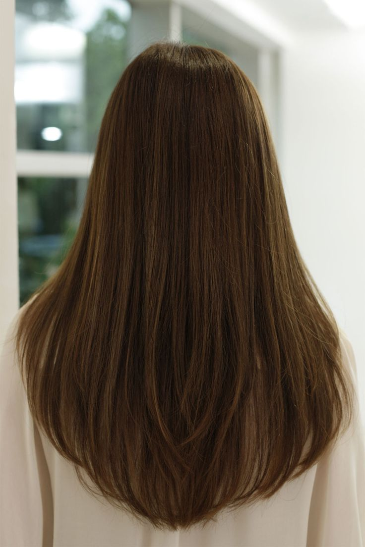 Sleek Straight Hair For The Long And Short Of It Strutting In Style