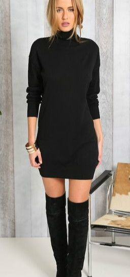 The Sweater Dress A Fashion Must Thats Never A Miss Strutting