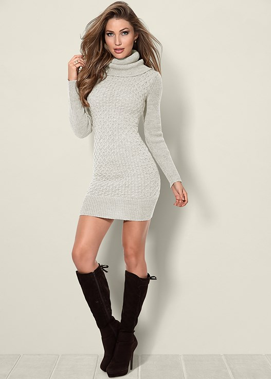 25ad56d8e2 Cover the skin you re in wrapped in an amazing sweater dress!
